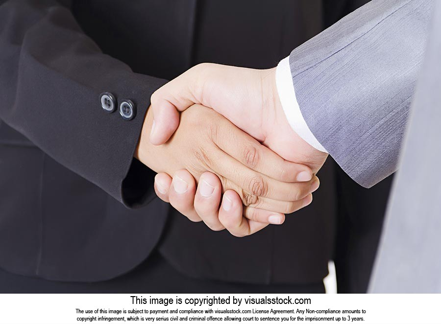 Business Partners Handshake Dealing