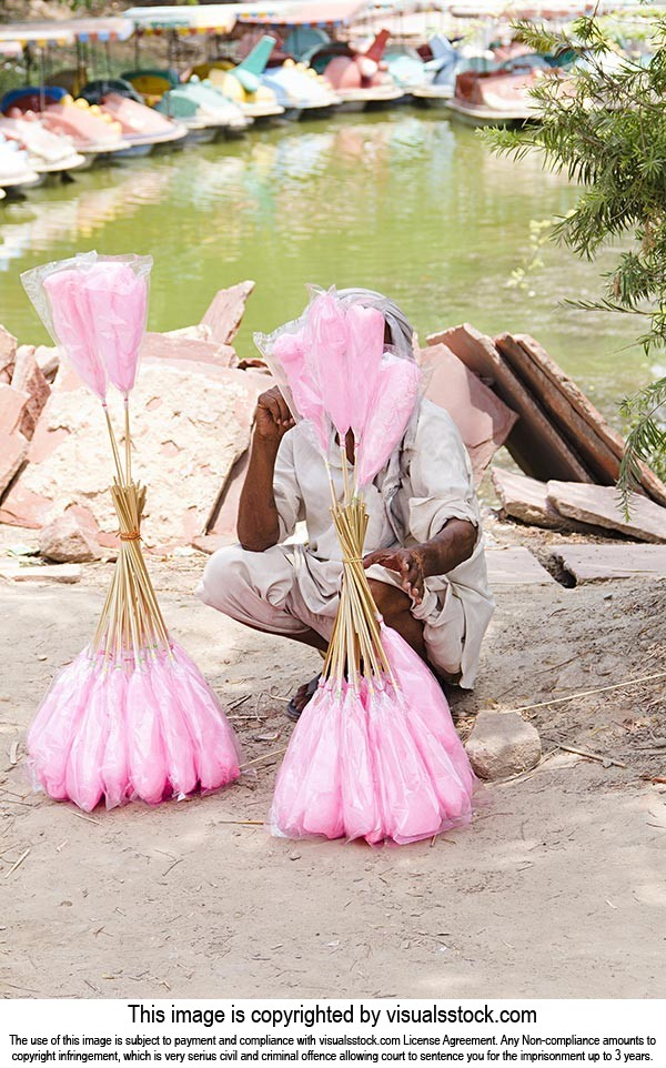1 Person Only ; Abundance ; Adult Man ; Candyfloss