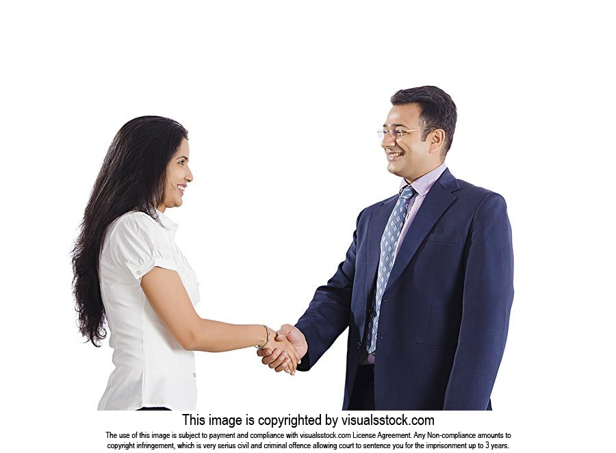 Indian Busines Partners Handshake