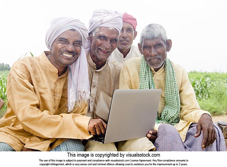 Farmer Friends Laptop Technology