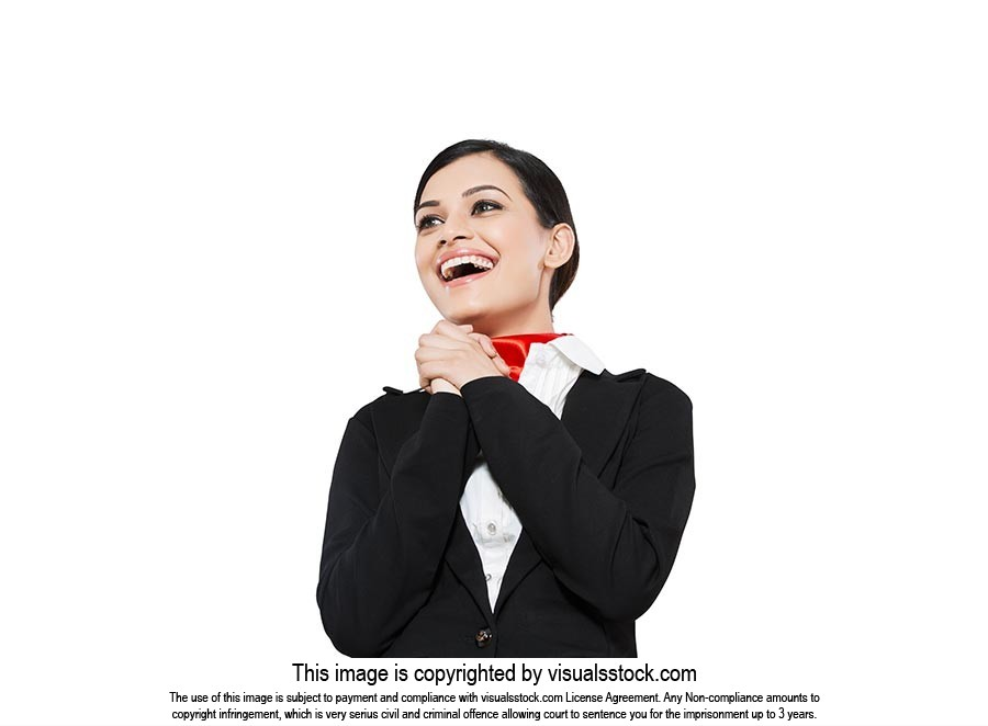Indian Airhostess Smiling