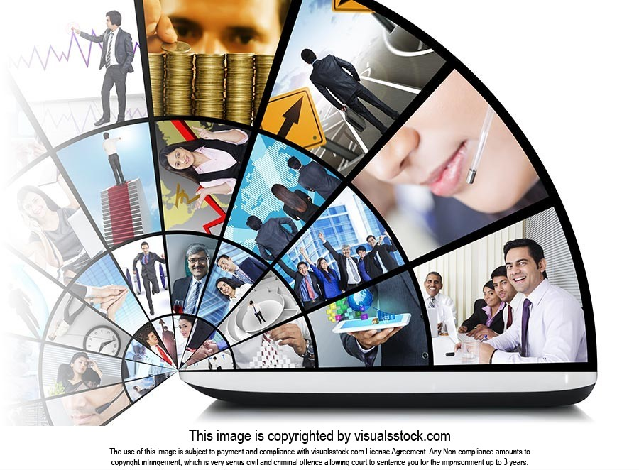 illustration Social Media Laptop Notebook Website