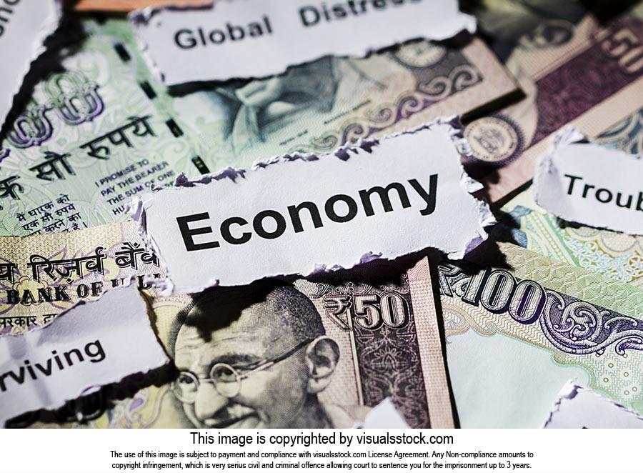 Money Rupees Cash Notes Economic Development