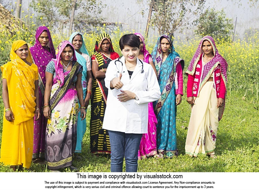 Rural Womens Government Doctor Advisor Village Thu