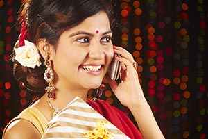 Deepawali Woman Gift Talking Mobile phone