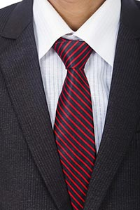 Close up Midsection One Businessman Wearing Formal