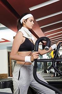 Active Woman Gym Walking Tread Mill Machine Work-O