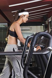 Active Woman Gym Exercise Treadmill Weight Loos Wo