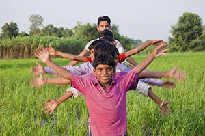 Agriculture ; Arms Outstretched ; Bonding ; Boys ;