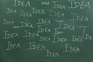Aiming ; Alphabet ; Blackboard ; Business ; Chalk