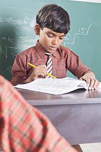 1 Person Only ; Blackboard ; Book ; Boys ; Classro