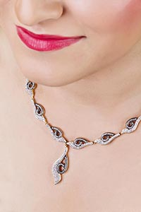 fashion Jewellery Designs Necklace For Woman