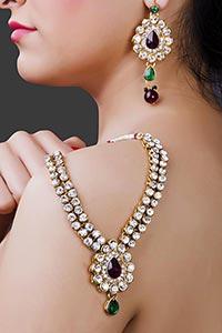 Beautiful women Latest Party wear Unique Jewellery