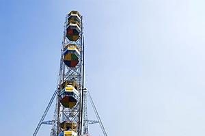 Absence ; Amusement Park ; Blue Sky ; Color Image