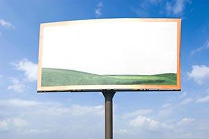 Absence ; Billboard ; Cloud ; Color Image ; Commun