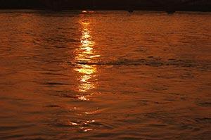 Absence ; Color Image ; Evening ; Ganga ; Haridwar