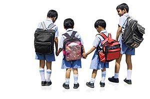 3-5 People ; Backpack ; Bag ; Bonding ; Boys ; Car