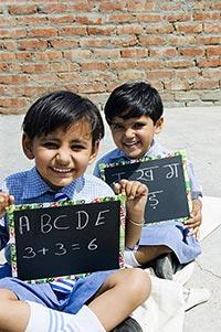 2 People ; Alphabet ; Classmate ; Color Image ; Co