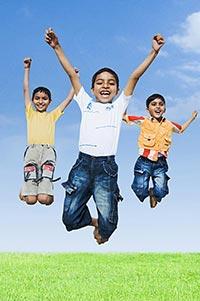 3-5 People ; Arms Raised ; Bonding ; Boys ; Boys O
