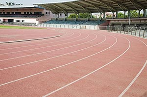 Racing Competition Track Line Marking Stadium Spor