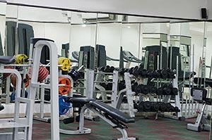Gym Health Club Machine Nobody