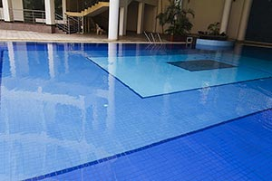 House Swimming pool Nobody