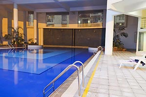 Hotel Swimming Pool Nobody