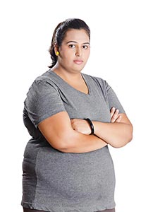 Indian Obese Woman Problem Weight