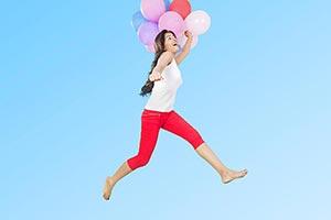 1 Person Only ; 20-25 Years ; Abundance ; Balloon