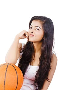 1 Person Only ; 20-25 Years ; Ball ; Basket Ball ;