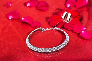 Background ; Bangle ; Bright ; Circle ; Close-Up ;