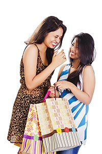Modern Ladies Shopping Bags Exhilaration
