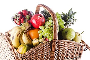 Abundance ; Arranging ; Banana ; Basket ; Close-Up