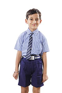 Child Boy School Uniform