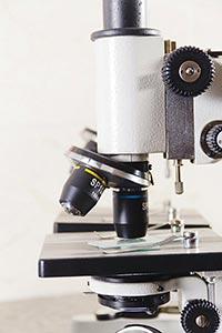 Laboratory Microscope Condenser