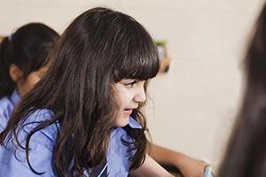 School Kid Girl Classroom