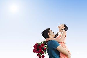 Couple Romance Hugging Valentines day