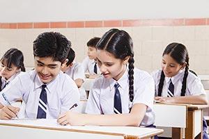 School Students Classmate Studying