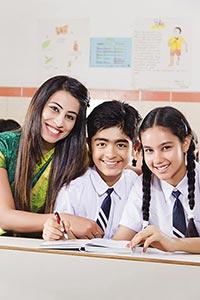 Teacher School Students Classroom
