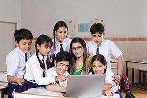 Teacher Teaching kids Students