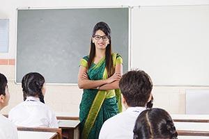 Teacher Teaching Classroom Students