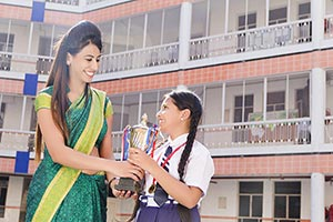Student Teacher Award Trophy