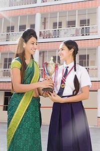 Teacher Student Acceptance Trophy