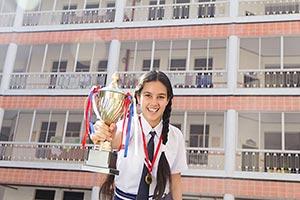 School Girl Victory Trophy