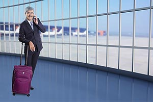 1 Person Only ; 50-60 Years ; Adult Man ; Airport