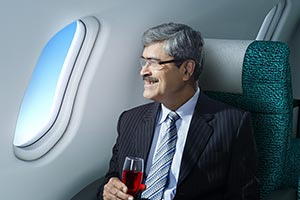 1 Person Only ; 50-60 Years ; Adult Man ; Airplane
