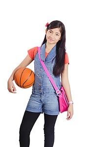 1 Person Only ; Bag ; Basket Ball ; Carefree ; Car