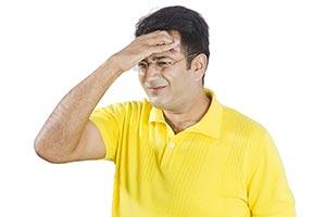 Indian Man Pain Headache