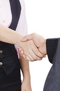 Business Partner Handshake Dealing