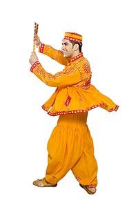 Gujrati Man Navaratri Dandiya Dance